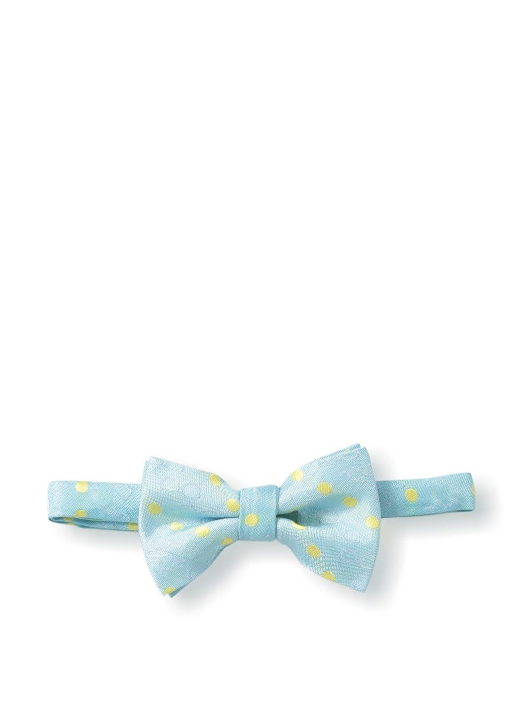 Andy /& Evan Little Boys Aqua Solid Tie