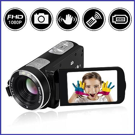 Camcorder Video Camera SEREE Full HD 1080P 24.0 MP Digital Camera 18 Digital Zoom Portable Video Recording