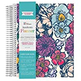 Erin Condren Non-Dated Academic Planner Floral Ink