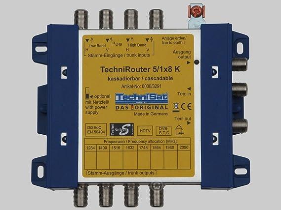 Technisat Technirouter 5 1x8 K Multischalter Für Elektronik