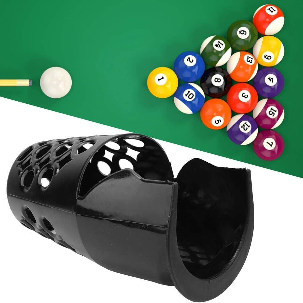 OhhGo 6 Piezas de Plástico Duradero Práctico Snooker Basket Entretenimiento en El Hogar Bola de Billar Bolsillo de Almacenamiento Accesorios de Mesa de Billar: Amazon.es: Deportes y aire libre