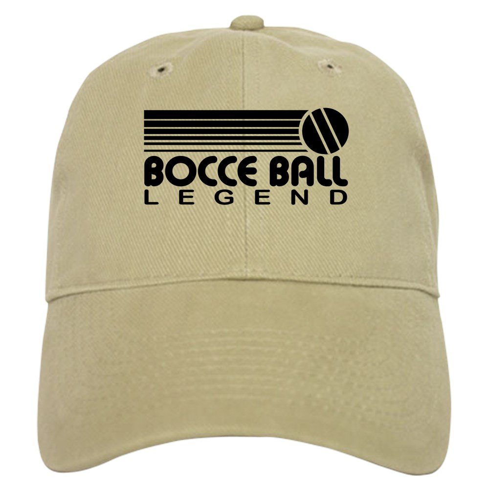 CafePress - Bocce Ball Legend - Baseball Cap with Adjustable Closure, Unique Printed Baseball Hat