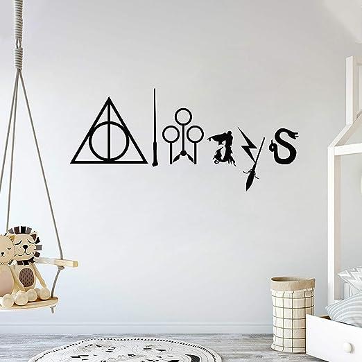 Wall Stickers Harry Potter Platform 9 3//4 door decal colour vinyl decor Nursery