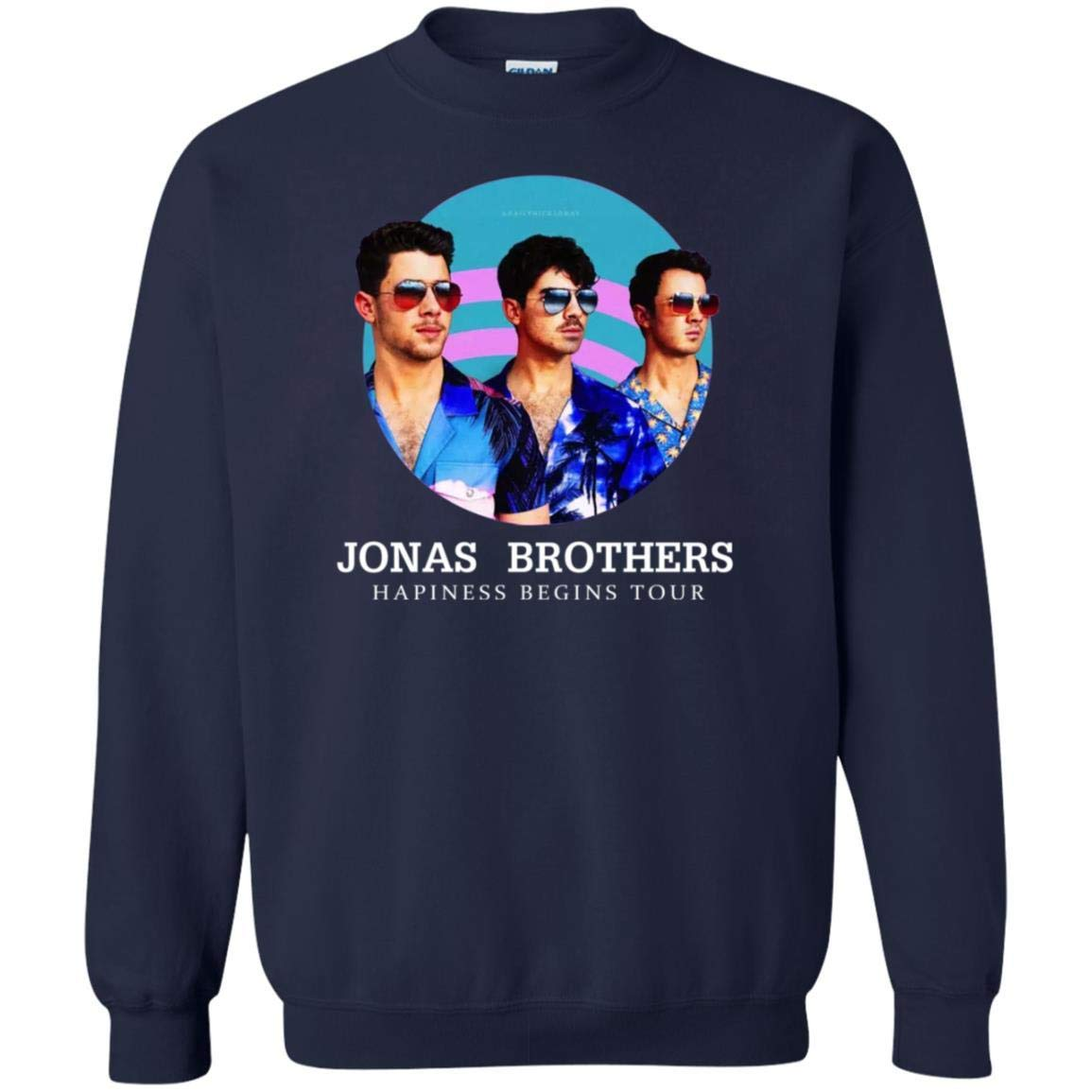 Jonas Brothers Happiness Tour 2019 Music Tour Concert Gift Unisex Shirts