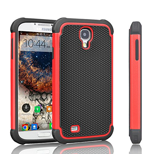 galaxy s4 red and black case - 6