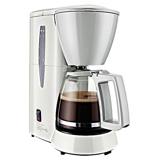 Melitta Cafetera de filtro con jarra de vidrio, Para 5 tazas de ...
