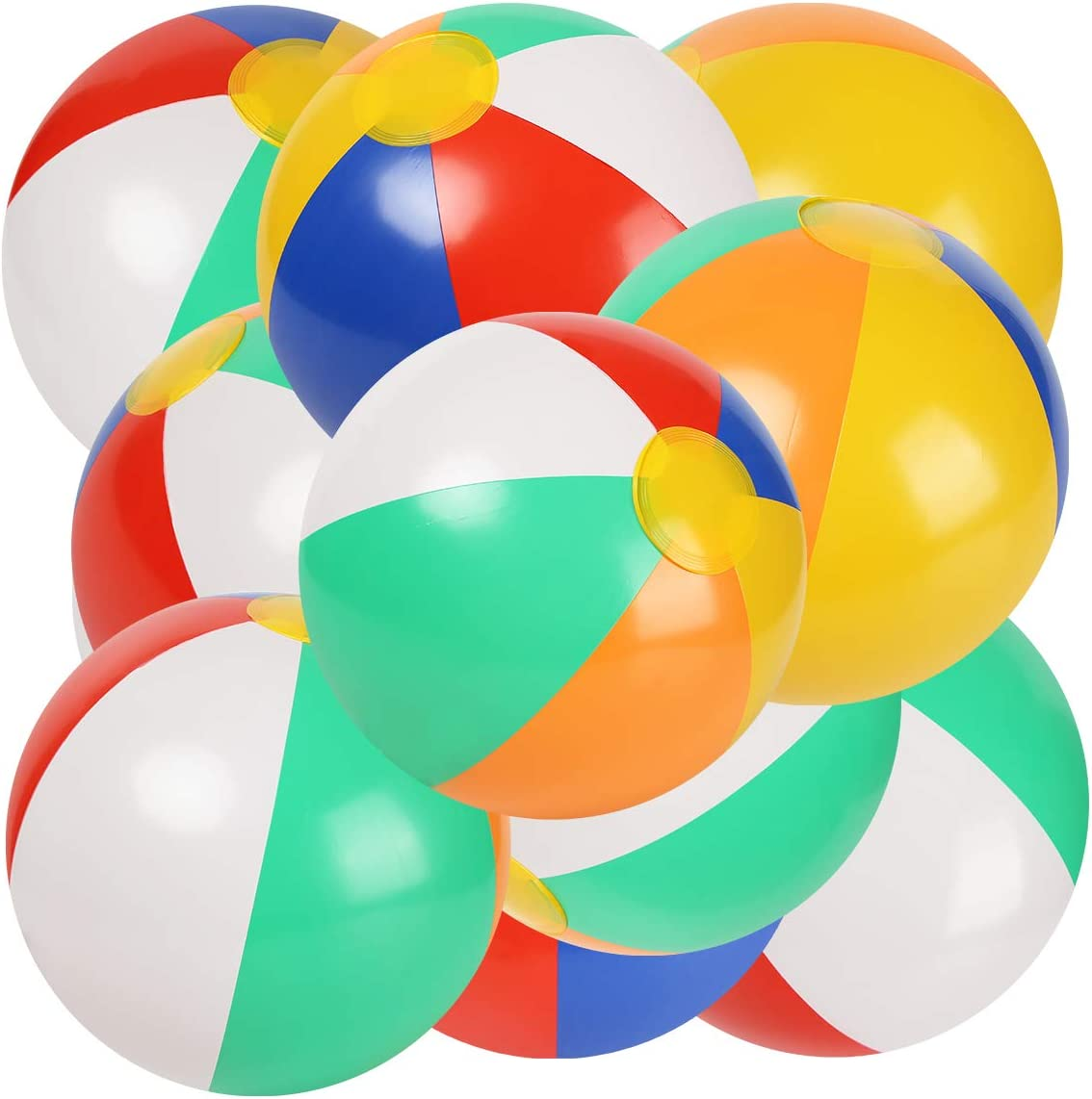 Sports & Outdoor Play 10 to 12 Inches from Inflated to ...