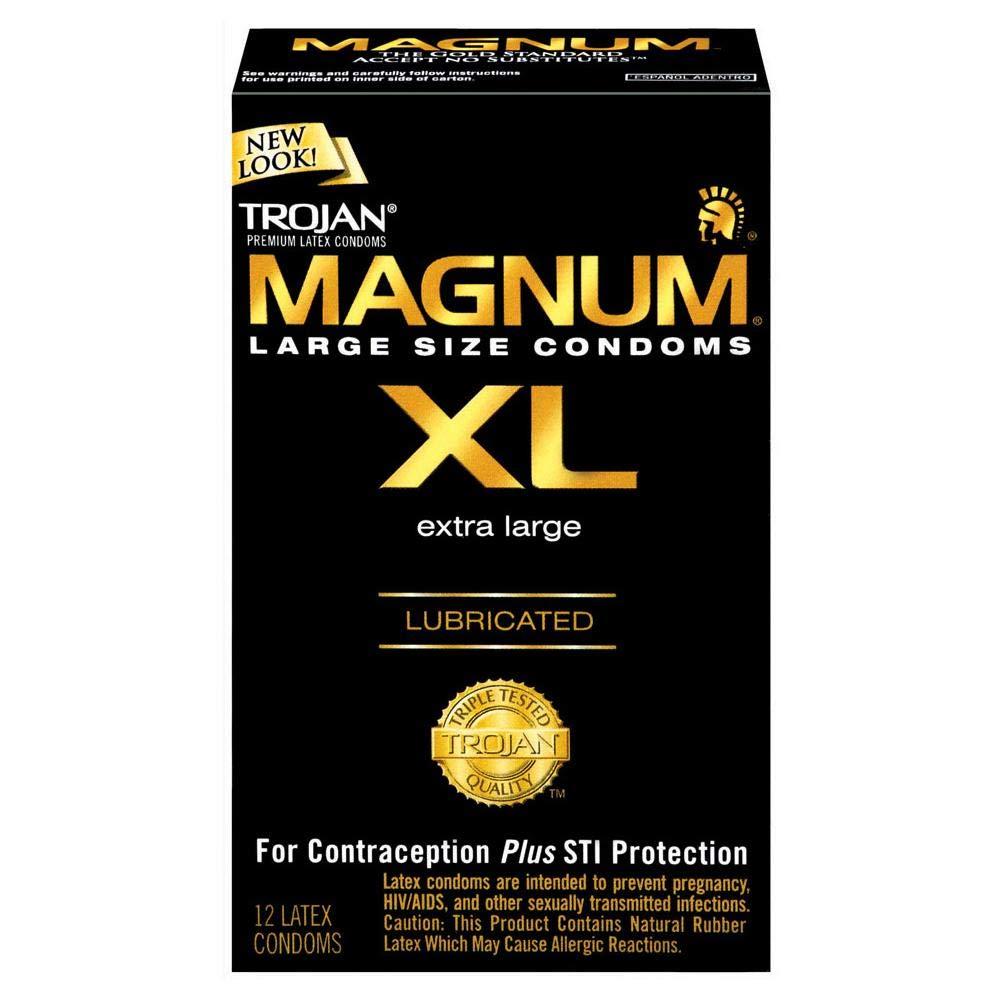 Trojan Magnum Xl Lubricated Condoms, 48 Count by TROJAN
