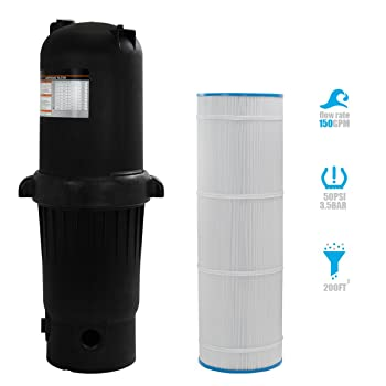 XtremepowerUS Deluxe Pool Cartridge Filter