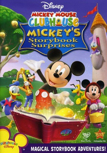 DVD : Disney Mickey Mouse Clubhouse:  Mickey's Storybook Surprises