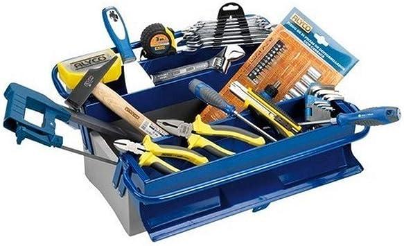 Alyco 192732 - Caja de herramientas metalica de 3 bandejas 420 x ...
