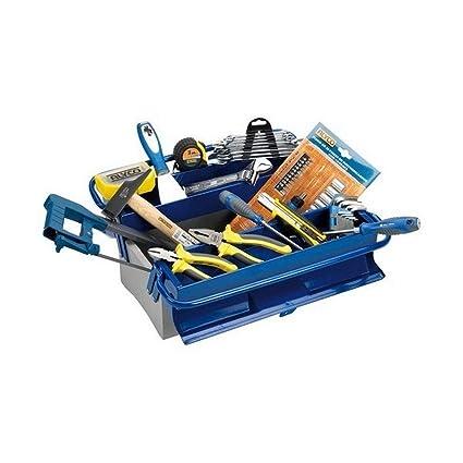 Alyco 192732 - Caja de herramientas metalica de 3 bandejas ...