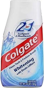Colgate 2-in-1 Whitening Toothpaste & Mouthwash - 4.6 oz - 2 pk