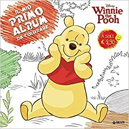 Amazon It Winnie The Pooh Il Mio Primo Album Da Colorare Aa Vv