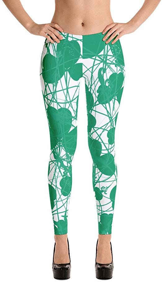 St Patricks Day Fleece Leggings Full Length