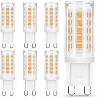 Bombilla LED G9 de 5W Equivalente a 40W Lampara Halógena, Blancas Cálidas(3000K),…