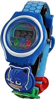 PJ Masks Kids Blue Digital Watch with 3 Charms PJM4038