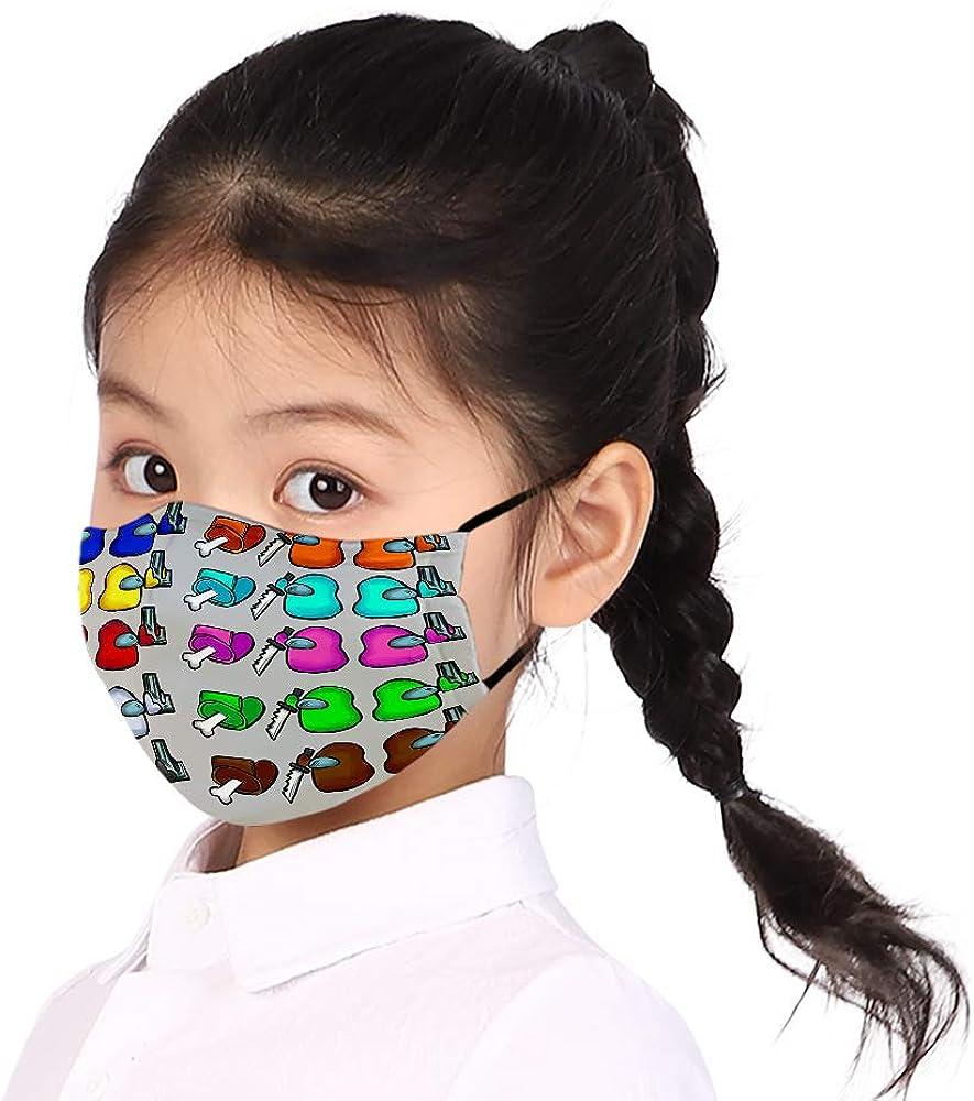 Baonmy Among Us Unisex Lavable Reutilizable Decoraci/ón Facial Adecuado para Ni/ños