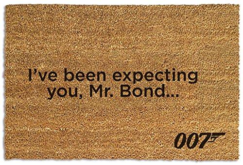 1art1 James Bond 007 Door Mat Floor