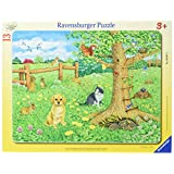 Ravensburger Animals on The Spring Meadow My First Frame Puzzle (13-Piece)