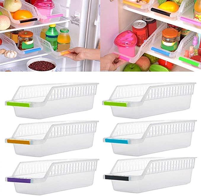 Hung Kai - Organizador de refrigerador para Cocina, Ahorro de ...