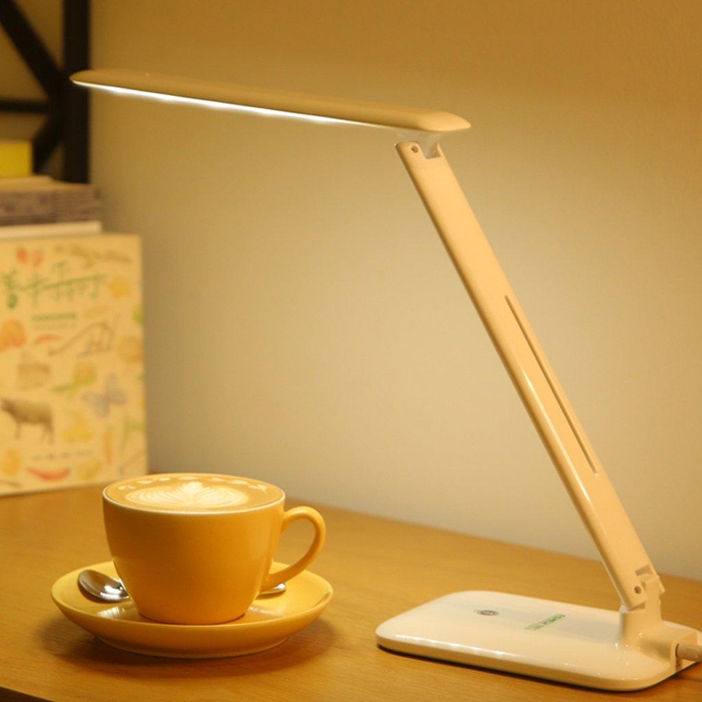 Style wei Ywyun Tres oscurecimiento lámparas de de de bajo Consumo Recargables Ojos lámpara de LED, el Aprendizaje de Escritorio para niños dormitorios iluminación de Noche, 31.8  16cm 653511