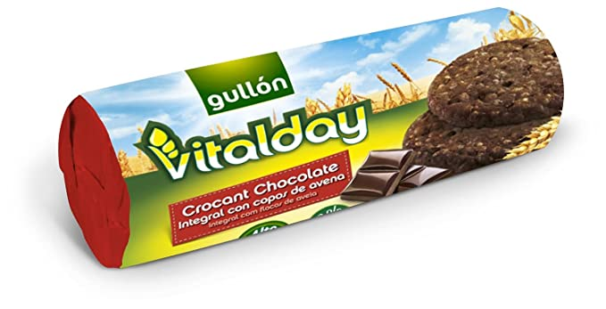 GULLON Vitalday galletas crocant chocolate integral copos de avena 280 gr