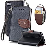 5S,5S,5S Case,iPhone 5S wallet case,Kaseberry Elegant Wallet Leather Case Cover For iPhone 5 5S 021