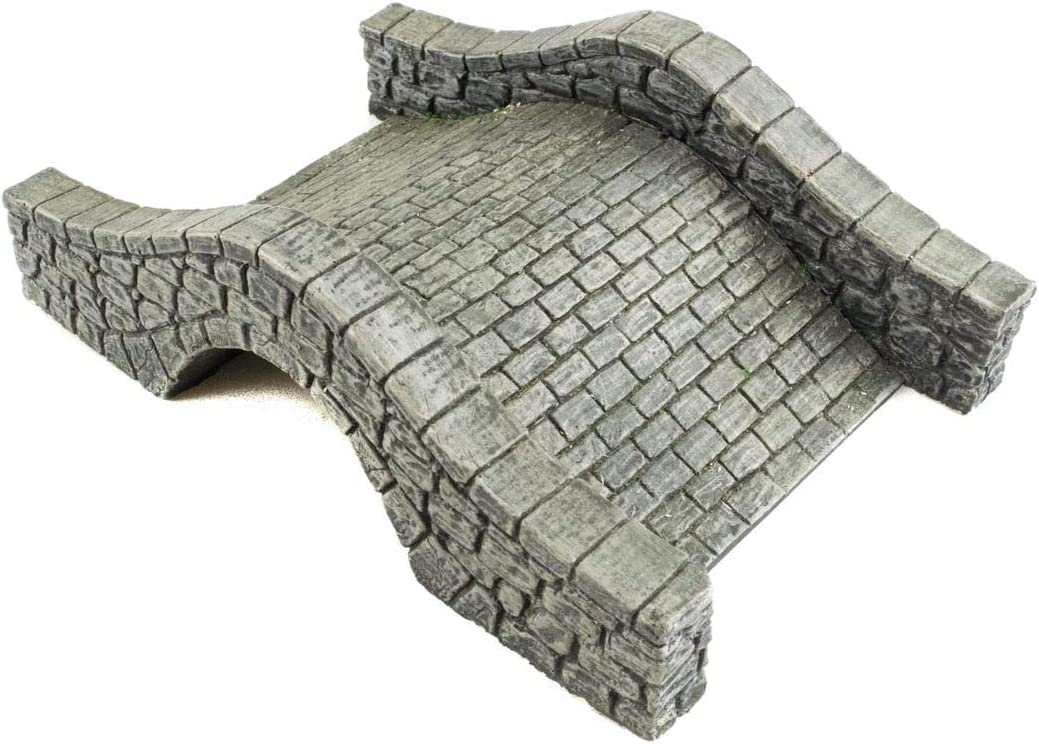 WWG World at War stone wall and pillar set of 6-28mm Model WW1 WW2 Terrain