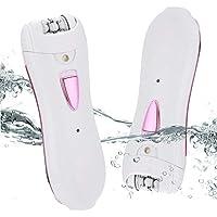 Épilateur pour l'épilation électrique des femmes Wet/Dry, avec le rasoir électrique Epilateur compact d'épilation pour la jambe de bikini de bras de visage