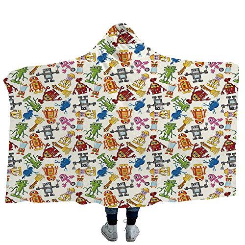 able Blanket,Kids,Super Soft Warm Comfy Large Fleece ()
