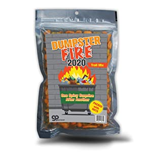 Dumpster Fire 2020 Trail Mix - Funny Spicy Snack Blend for Men and Women, Gourmet Gifts, Made in America