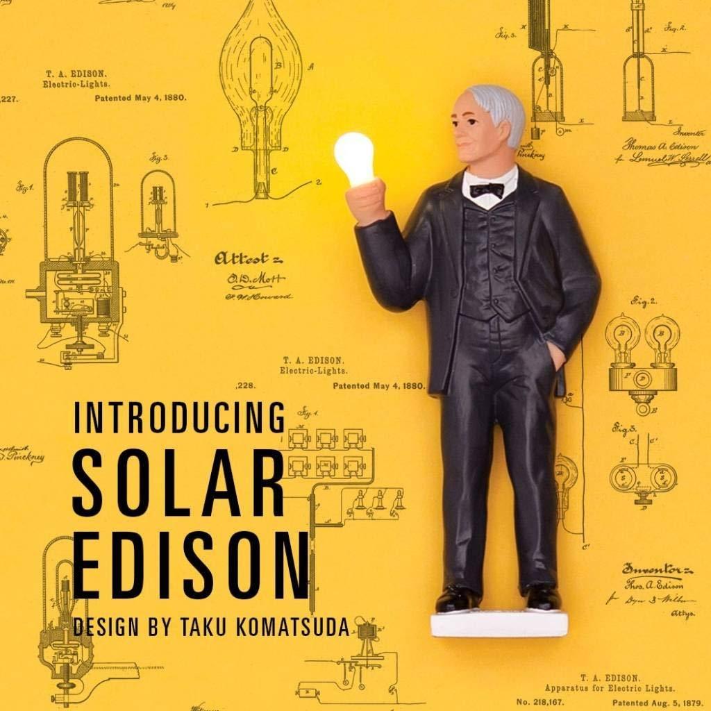 Kikkerland Solar Edison