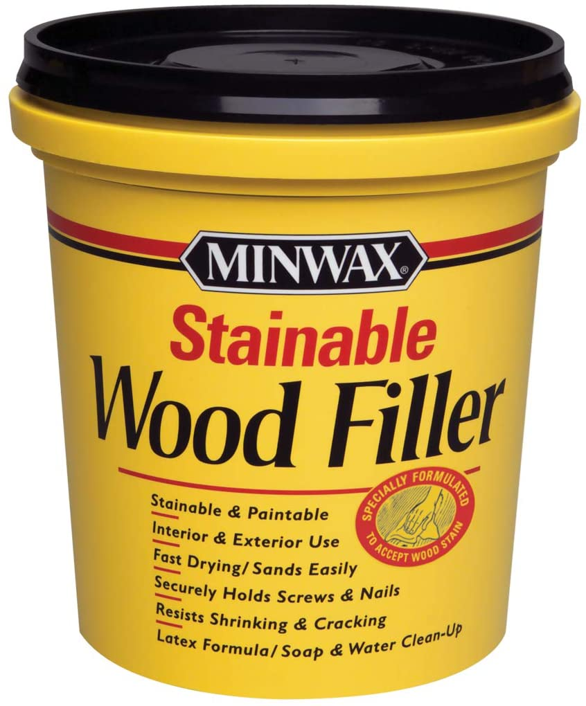 Minwax Stainable & Paintable Wood Filler