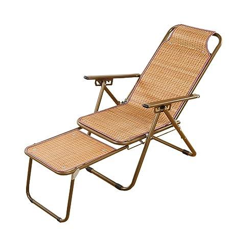 YXX-Tumbona Sillón reclinable Plegable de Pesca con tapete ...