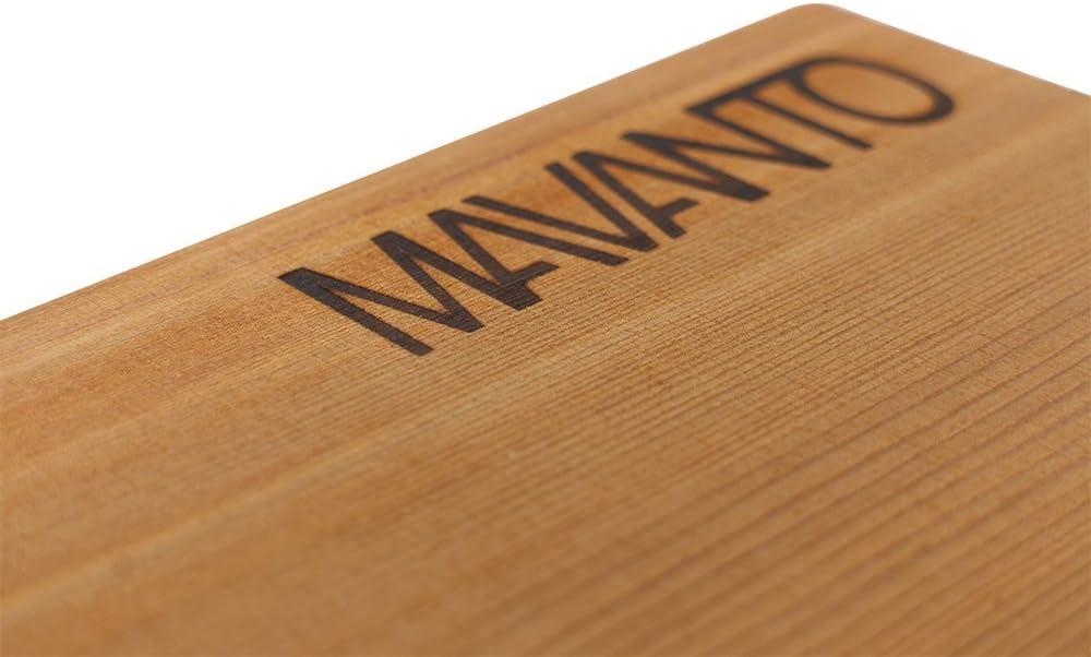 30x14x1,5cm 2er Set langlebig /& wiederverwendbar EXTRA DICK Kanadisches Zedernholzbrett zum Grillen MAVANTO/® XXL Grillbretter R/äucherbretter
