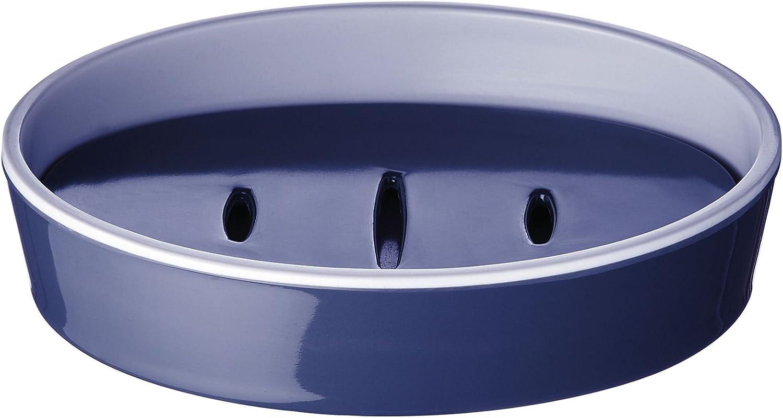 RIDDER 20013030 Porte-Savon Fashion Synth/étique 12,9 x 9,8 x 2,9 cm Bleu