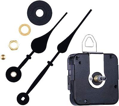 High Torque Silent Quartz Clock Movement Mechanisms with Hands Battery Powered Wall Clock Mechanism Parts Motor Replacement DIY Clock Movement Kits for Clock Repair