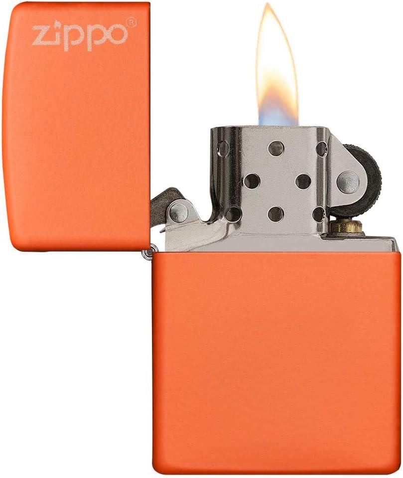 Zippo Classic Naranja - Encendedor de Cocina (Naranja, 1 Pieza(s)): Amazon.es: Hogar