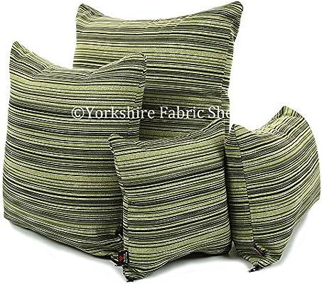 Yorkshire Fabric Shop Funda de cojín hecha a mano con diseño ...