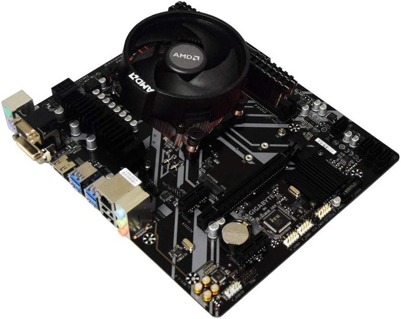 ADMI CPU Motherboard Bundle: AMD Ryzen 3 3200G 4GHz with Radeon Vega 8 Graphics, Gigabyte B450M-S2H Motherboard, Corsair Vengeance LPX 8GB 3000Mhz DDR4 RAM