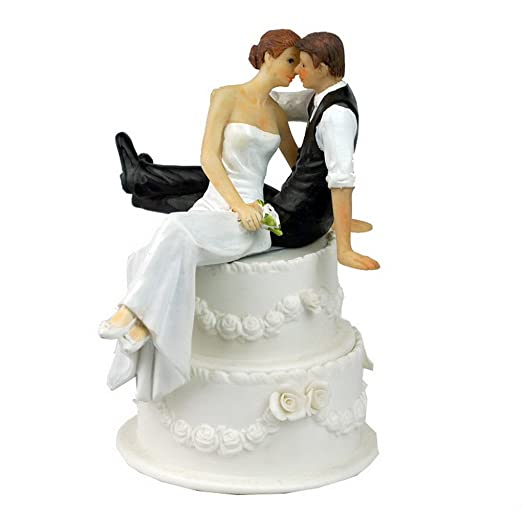 2 opinioni per Cake Topper Matrimonio Decorazione Torta Resina Sposo Sposa