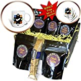 3dRose Janna Salak Designs Outer Space - Space Shuttle and Solar System - Coffee Gift Baskets - Coffee Gift Basket (cgb_283592_1)