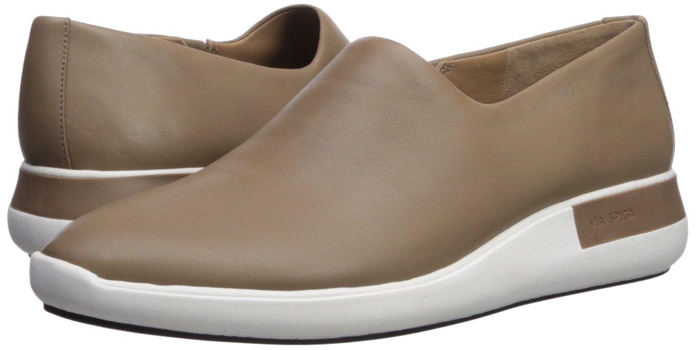 Via Spiga 5.5 Women's Malena Slip Sneaker B074DYTBMJ 5.5 Spiga B(M) US|Mink Leather 2f061b