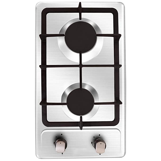 Amazon.com: NOXTON - Estufa de cocina de gas con 2 ...