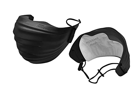 Particulate With 4 Respirator N95 Hooah Replacement black