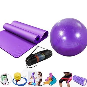 LYX Conjunto de Diez Juegos de Yoga: balón de Yoga ...