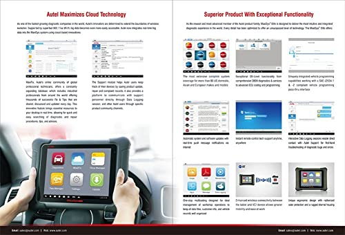 Autel Maxisys Elite is one of the most convenient diagnostic tool that supports Autel maximizes cloud technology