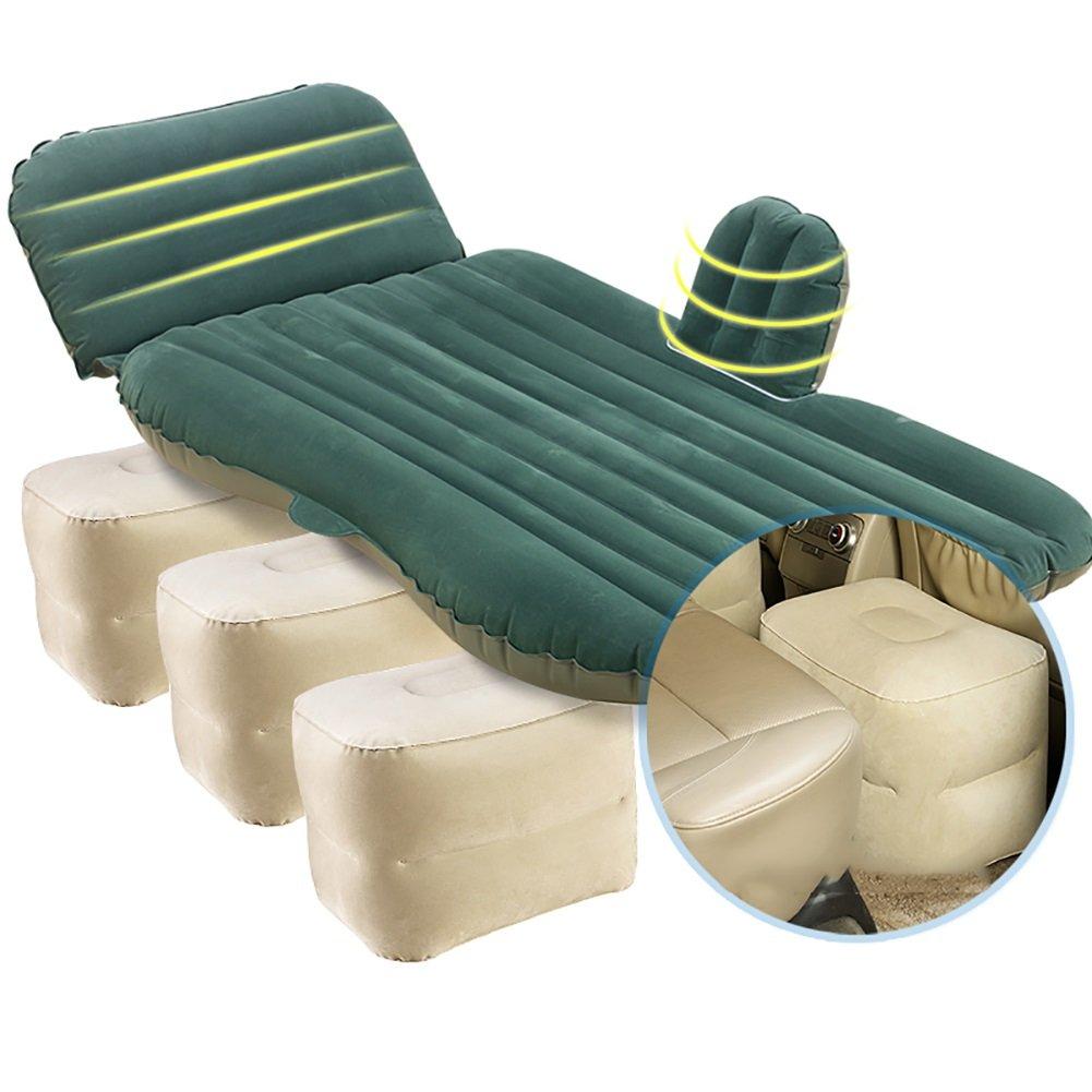 Auto aufblasbare Matratze ZCJB Split-Typ-Multifunktions-Auto-aufblasbares Bett Kommt Mit Einem Bequemen Kissen Mit Dem Fuß-Pier, Der Für Große SUV-Fahrzeuge Passend Ist (Farbe : Style 2)