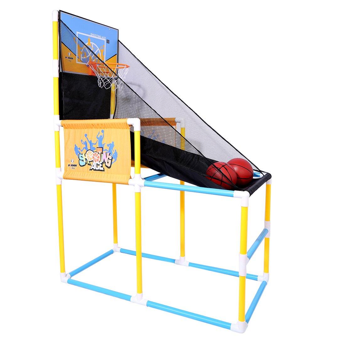 PINCHUANGHUI Automatic Scoring Basketball Shooting Machine Kids Teenagers Shooting Hoop